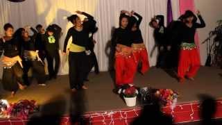 getlinkyoutube.com-Dance By EIC Youth On Christmas Celebration 2013