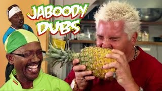 getlinkyoutube.com-Guy Fieri Dub: The Jamaican Jerk-Off