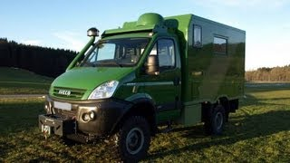 Iveco daily 4x4 Camper Expedition