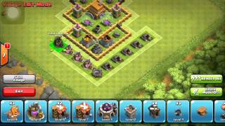 getlinkyoutube.com-Clash of Clans: Town Hall 5 Defense Strategy