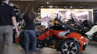 getlinkyoutube.com-2016 Can-Am Spyder F3 U-Fit System @ Diamond Motor Sports