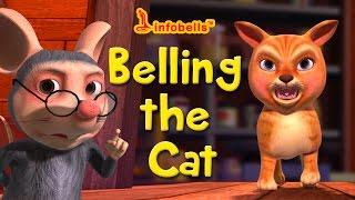 getlinkyoutube.com-Stories for Kids | Belling the Cat | Infobells