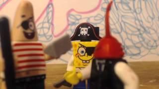 lego spongebob arggh!