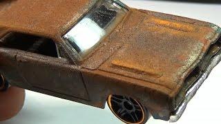 getlinkyoutube.com-How to apply a rust effect to a Hot Wheels custom