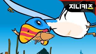 getlinkyoutube.com-#5 디모르포돈 vs 케찰코아툴루스 | 초기 쥐라기 익룡 ★지니키즈 공룡세상