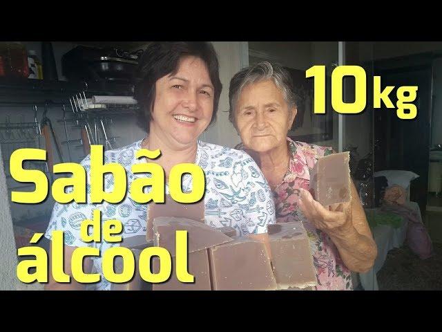 Download Thumbnail For 10 Kilos De Sabão De álcool Tradicional Youtube