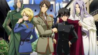 getlinkyoutube.com-The Stand Up - Hateshinaku Tooi So Ra Ni (Kyo Kara Maoh! Theme Song)