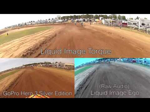 Torque, Ego, GoPro MX Comparison Video