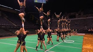 getlinkyoutube.com-Recap: No. 2 Oregon Acrobatics and Tumbling falls to No. 1 Baylor