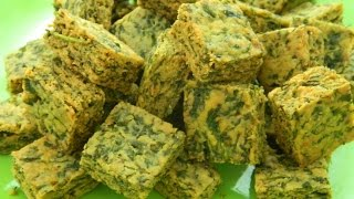 How To Make -  Crispy Kothimbir Vadi - By Food Connection