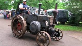 getlinkyoutube.com-Traktoren in Action 3/3 von Lanz Bulldog, Deutz & Co. - Vintage Tractor