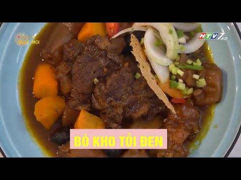 Bò kho tỏi đen