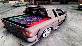 getlinkyoutube.com-GTA SA / Role de Fiat Strada + Sonzera na mala ♠ Funk+Grave♠