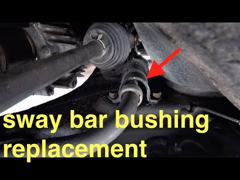 EASY Diagnose & Replacement (SWAY Bar Bushings) Toyota Sienna? Fix it Angel