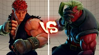 Street Fighter V PC - SHADOW vs EVIL RYU