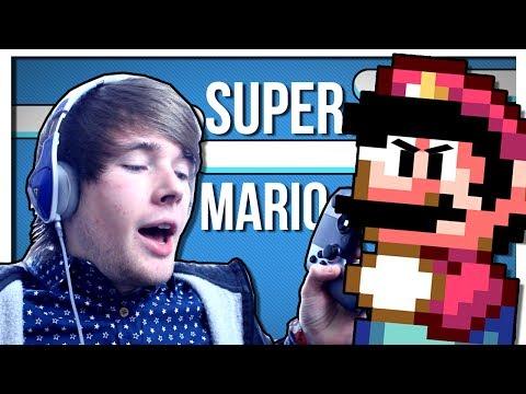THE HARDEST RETRO GAME!   Super Mario World   TDM Plays [OUYA / SNES]