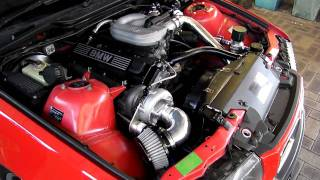 getlinkyoutube.com-Bmw E36 318i Turbo
