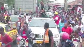 getlinkyoutube.com-This is how Diamond  was Welcomed in Tanzania ,from Afrimma Awards-2014