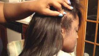 No Braids Sew -in Houston Texas www.houstonhairweavingcenter.com