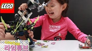getlinkyoutube.com-레고 닌자고 70737 타이탄 로봇 전투 장난감 놀이 LEGO NINJAGO TITAN ROBOT BATTLE Unboxing & Review! Toys おもちゃ 라임튜브
