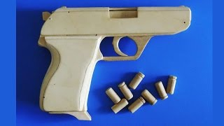 Shell Ejection Rubber Band Gun -HK4 Type