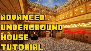 getlinkyoutube.com-Minecraft: Advanced Underground House/Base Tutorial Xbox/PC/PE/PS3/PS4