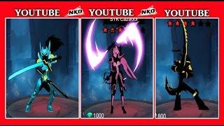 getlinkyoutube.com-3 Nuevas Pieles - BM, Cazador y Samurai - League of Stickman 3.1.5