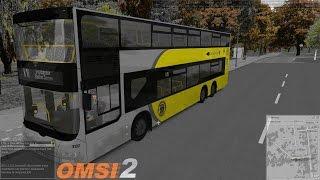 getlinkyoutube.com-Omsi 2: Advanced Omnibus Driver | Route X10 | DL05