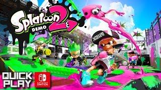 getlinkyoutube.com-Splatoon 2 Demo Gameplay! Nintendo Switch Quick Play