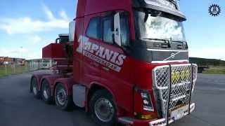 getlinkyoutube.com-Volvo FH16-750 gen 4 at Load up North 2015