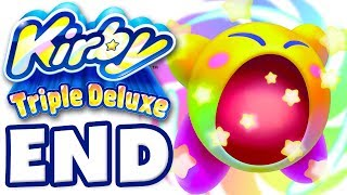 getlinkyoutube.com-Kirby Triple Deluxe - Gameplay Walkthrough Part 7 - Level 7 Eternal Dreamland Queen Sectonia Boss!