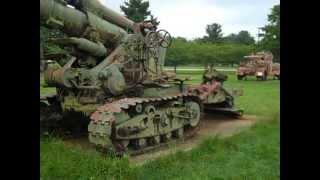 getlinkyoutube.com-The B4 Gun-Howitzer At Aberdeen Ordnance Museum