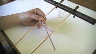 getlinkyoutube.com-Learn Hairpin Lace - Making a Hairpin Lace Strip