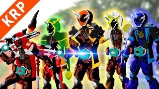 getlinkyoutube.com-Pivot Kamen Rider Ghost 【01 02 03】 Henshin & Finisher【仮面ライダーゴースト】