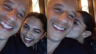 (Video) Deepika Padukone Teaches Vin Diesel Hindi   XxX Return Of Xander Cage