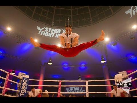 Showauftritt bei Steko's Fight Night | Titelkampf Marie Lang