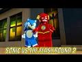 LEGO Dimensions Sonic vs The Flash Round 2 The LEGO Batman Movie Adventure World