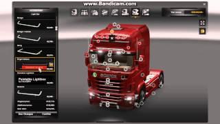 getlinkyoutube.com-Euro Truck Simulator 2-Mega Tuning Mod V4 Preview