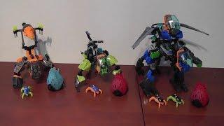 getlinkyoutube.com-LEGO Hero Factory COMBO 44025 + 44027 + 44028