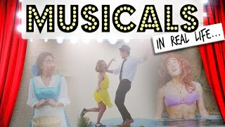 Musicals in Real Life! width=