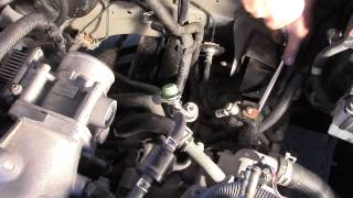 How To - Changing Clutch Master & Slave 2006 Nissan 1