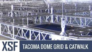 Xtreme Structures & Fabrication - XSF - Tacoma Dome Truss Grid & Catwalk System