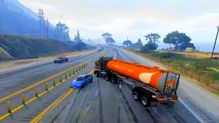 getlinkyoutube.com-GTA V Unbelievable Crashes/Falls - Episode 73