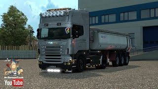 getlinkyoutube.com-[ETS2 v1.24] Scania R & Streamline Modifications V1.5.2 + Cabin DLC
