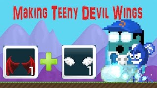 getlinkyoutube.com-MAKING TEENY DEVIL WINGS! - Growtopia