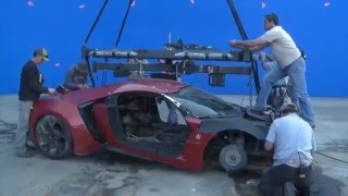 getlinkyoutube.com-Behind the Scenes of Fast & Furious 7 VFX