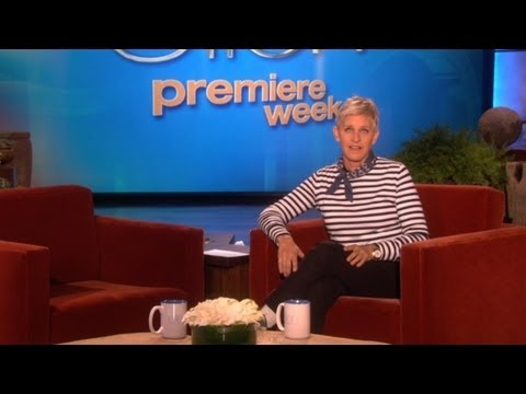 Don't Cross Your Legs, Ellen!
