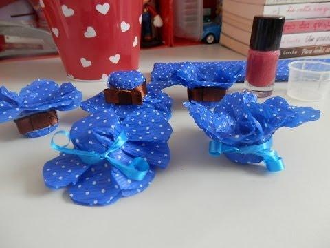 Forminhas para docinhos - Com papel crepom