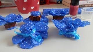 getlinkyoutube.com-Forminhas para docinhos - Com papel crepom