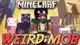 getlinkyoutube.com-Minecraft ITA - Mod: NUOVI MOB ASSURDI - Strani Incroci, Spada e Armatura di Terra, NO-SENSE